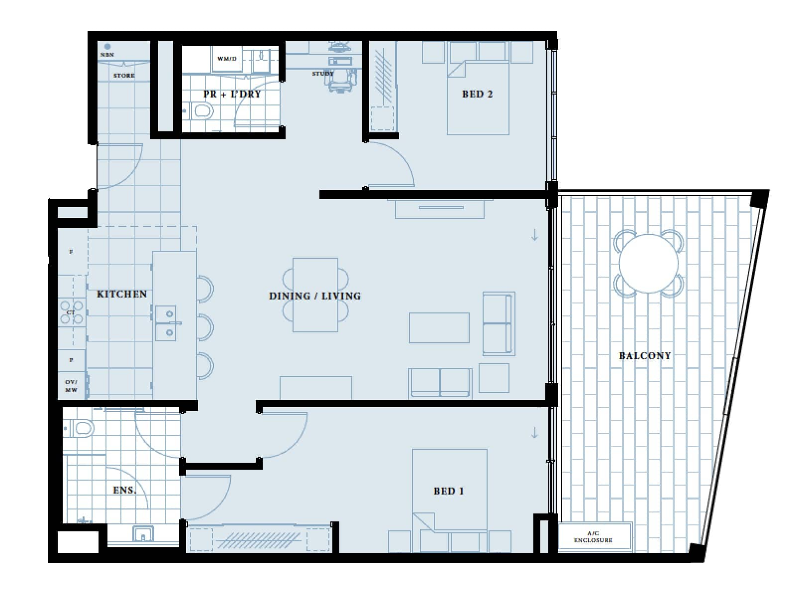 The Kardinya Floor Plan