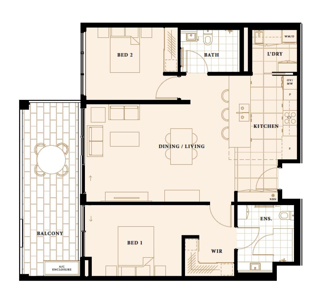 The Murdoch floor plan